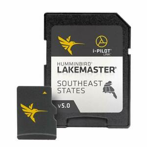 Humminbird LakeMaster Southeast States Edition Digital GPS Lake Maps  Micro S...