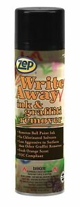 Zep Write Away 14 Ounce 32401 case Of 12 Heavy duty Ink And Graffiti Remover