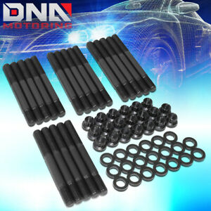For 1963 2001 Ford 289 302 12 Points Front Cylinder Head Studs Hex Nut Assembly