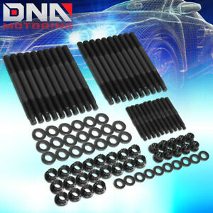 For 2004 Chevy 4 8 5 3 5 7 6 0l 12 point Front Cylinder Head Studs Assembly