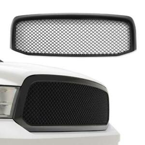 Front Bumper Mesh Hood Grille Grill For 2006 2007 2008 Dodge Ram 1500 2500 3500