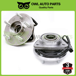 2 Front Wheel Bearing Hubs For 2008 2009 2010 2011 2012 Jeep Liberty W Abs