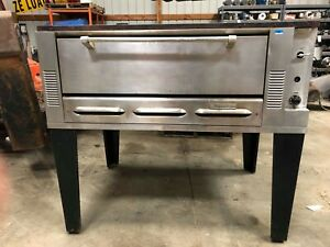 Commercial Pizza Oven 1 Level Heats Up To 550 F Gas