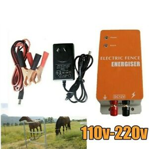 Animals Electric Fencing Controller Electric Fence Energizer Charger Moulde 10km
