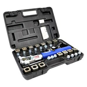 3 16 To 1 2 4 75 To 10 Mm 45 Deluxe Hydra flare Flaring Tool Set