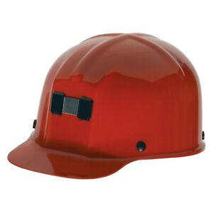 Comfo cap 6 1 2 To 8 Polycarbonate Red Cap Style Hard Hat With 4 Point