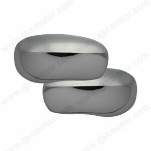 Chrome Mirror Cover Set Fits 2006 2010 Dodge Charger