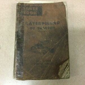 Cat Caterpillar D7 D7e Parts Manual Book Catalog Tractor Bulldozer Sn 48a1 6392