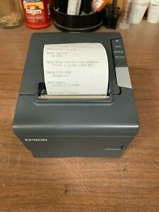 Epson Tm t88v m244a Thermal Receipt Printer W powered Usb Interface