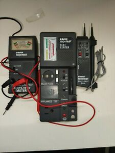 Vintage Sonin Electrical Testing Equipment Excellent Condition H