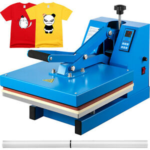 Heat Press 15 x15 Digital Clamshell Sublimation Transfer Machine T shirt Diy