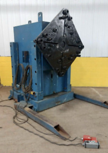 30 000 Lbs Ransome Model 15h Rotary Welding Headstock Positioner Ybm 12590