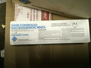 Lot Of 5 Con med Hand Control Electrosurgical Pencil 288 4424