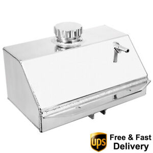 Aluminium Water Coolant Radiator Expansion Overflow Tank For 2015 Ford Mustang