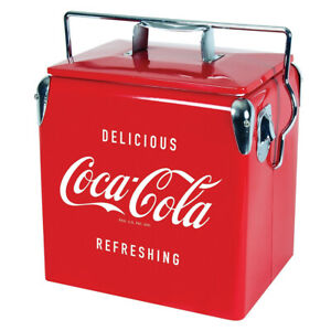 Koolatron CBVIC-13 Official Coca Cola Design 14 Quart 13 Liter Drink Cooler