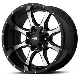 18 Inch Black Rims Wheels Ford F150 Truck Expedition Moto Metal Mo970 18x9 New