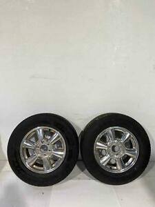 2005 Gmc Envoy 2 17 Polished Rims 17x7 6 Spoke Opt N80 W Tires 245 65 17