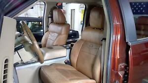 04 08 Ford F150 Crew Cab King Ranch Leather Seat Set Front Rear 11k Oem