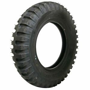 Set Of 4 Coker Firestone Military Tires 7 50 20 Bias ply Blackwall 77504