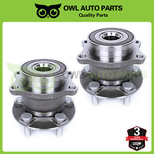 Pair Rear Wheel Bearing Hub For 2010 2011 2013 Subaru Forester Legacy Outback