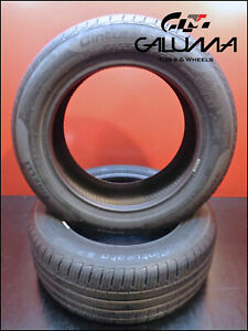 2 Two Tires Pirelli 205 55 16 Cinturato P7 All Season 91v Runflat Nopatch 51137