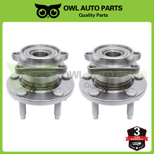 Awd 2 Rear Wheel Bearing Hub Assembly For 2007 2008 2010 Ford Edge Lincoln Mkx