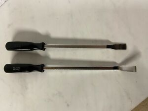 Csb10 Csa10 Snap On Tools 2pc Black Hard Handle Carbon gasket Scrapers Pry