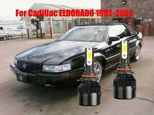 Led For Cadillac Eldorado 1992 2002 Headlight Kit 9006 Hb4 Cree Bulbs Low Beam