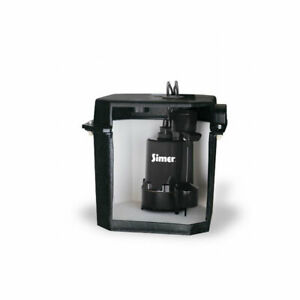Simer 2925b 02 Self Contained Above Floor Under Sink Laundry Sink Sump Pump