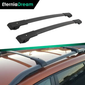Cross Bar Fit For Jeep Cherokee 2014 2020 Roof Rack Rail Black Luggage Baggage