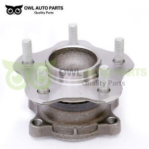 New Rear Wheel Bearing Hub Assembly For Nissan Altima Maxima Quest W Abs Brakes