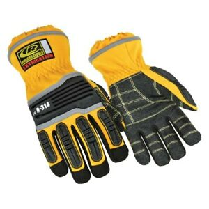 Ringers Gloves 314 09 Medium Yellow Extrication Impact Protection Glove