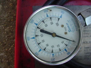 Snap On Oil Pressure Test Gauge Parts