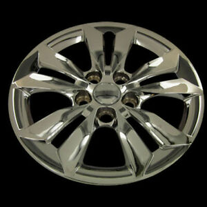 Fits 06 14 Hyundai Sonata 16 Chrome Hubcaps Hub Caps Wheel Covers Set Of Four