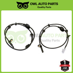 Front Left Right Abs Wheel Speed Sensor For Nissan Murano 2003 2004 2007 3 5l
