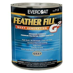 Evercoat Feather Fill G2 1 Gal Gray Premium Spray on Polyester Primer Surfacer