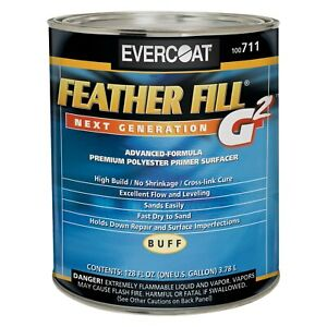 Evercoat Feather Fill G2 1 Gal Buff Premium Spray on Polyester Primer Surfacer