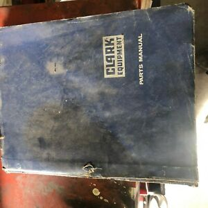 Clark Forklift Chy160 Parts Book Manual 160