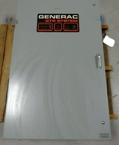Generac 97b05576 w 150a 277 480v Max 600vac Automatic Transfer Switch