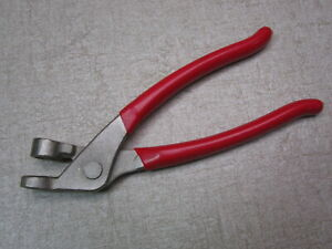Cleco Pliers Tool Installing Temporary Fastener Aircraft Sheet Metal Fabrication