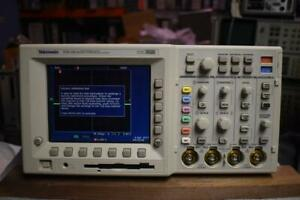 Tektronix Tds3014 Dpo Oscilloscope 100 Mhz 1 25 Gs s 4 Channel 3 Probes P3010