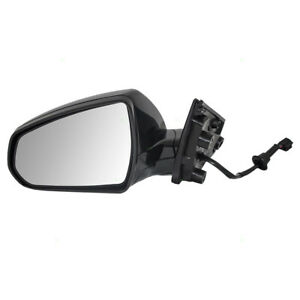 Drivers Power Side View Mirror Heated For 10 16 Cadillac Srx 1st Design 20774504