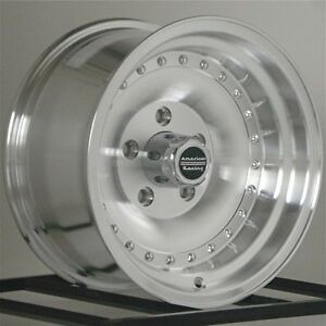 15 Inch Wheels Rims Chevy Pontiac Gm Ar61 Outlaw I 5x4 75 2 15x7 2 15x8 New