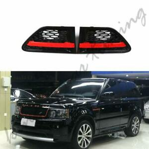 Side Vent Mesh Cover Grill Grille Fit For Land Rover Range Rover Sport 2010 2013