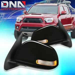 For 2012 2015 Toyota Tacoma Pair Oe Style Powered signal Door Mirror Replacement