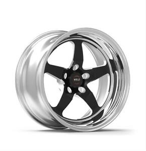 Weld Racing Rt S S71 Forged Aluminum Black Anodized Wheel 71hb0080w53a