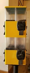 Yellow 8 Compartment U turn Terminator Candy Vending Machine