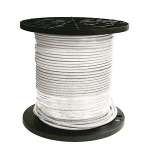 Southwire Electrical Wire 500 Ft 8 Stranded Cu Simpull Thhn Heat Resistant White