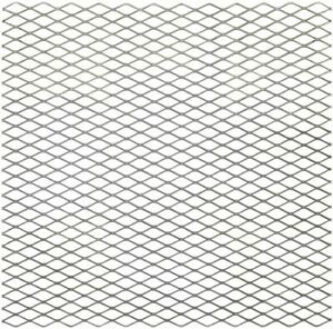 National Hardware 24 X 24 Expanded Weldable Plain Steel 3 4 Mesh Grid new