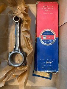 Nos Willys Jeep Wagon Pick Up 226 6 Cylinder Motor Connecting Rod